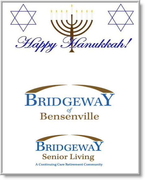 Bridgeway Apartments: Happy Hanukkah From Our Family To Yours!