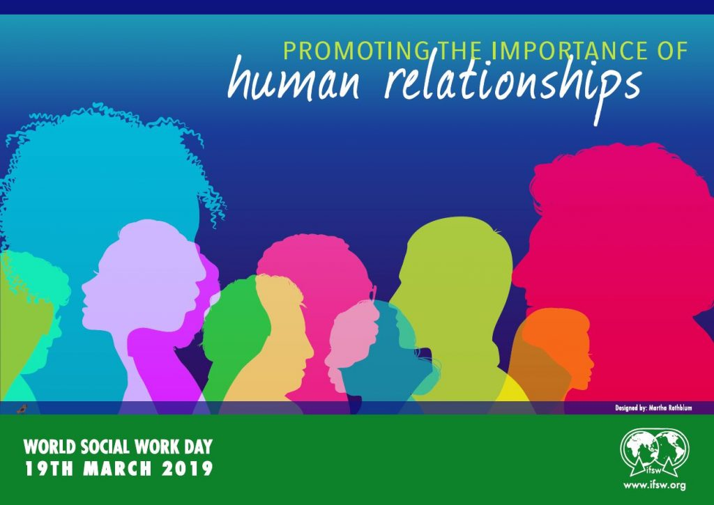 promoting the importance of human relationships world social work day