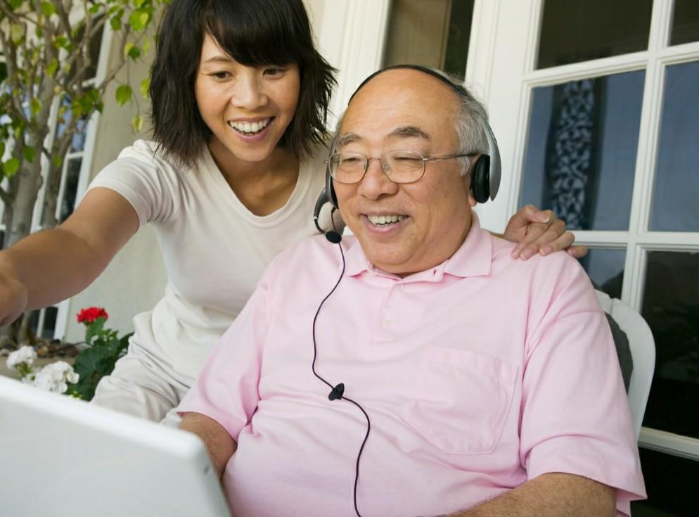 Paid caregiving in action